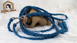 """Tandem-Leine """"Midi-Leash"""" - 6fach geflochten - für 2  mittelgroße Hunde"""