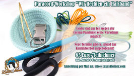 "Workshop ""Wir flechten ein Paracord-Halsband"""