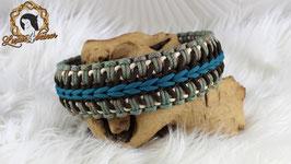 "Halsband ""Marielyn"" - Alu-Steckschnalle - für 42 cm Halsumfang"