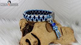 """Halsband """"Ruby"""" - Alu-Steckschnalle - für 24 cm Halsumfang"""