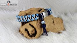 """Halsband """"Pino"""" - Alu-Steckschnalle - für 32 cm Halsumfang"""