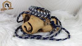 """Gassi-Outfit für kleine Hunde - Halsband """"Pino"""" und Leine """"Mini"""""""