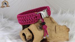 """Halsband """"Tessa"""" für 32 cm Halsumfang mit matter Steckschnalle"""