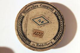 """""""Terebratula"""" in historischer Pappschachtel"""