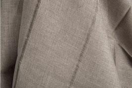 Graues Voll-Leinen mit transparentem Streifen - Shabby Chic