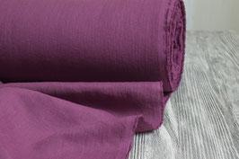 Lila-burgundfarbenes Leinen, gewaschen