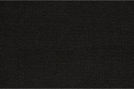 Schwarzes Leinen - mit markanter Struktur