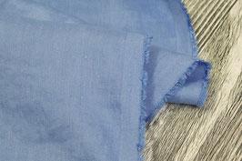 Blaues Leinen mit Viskose