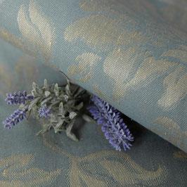 Jacquard in zartem Grau-Blau