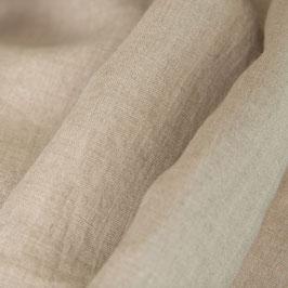 Bettbezug leinenfarben aus Gewaschenem Voll-Leinen