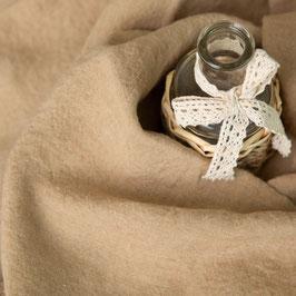 Bettbezug Moka / Caramel aus gewaschenen Voll-Leinen