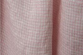 Zartes Karo in rosa-weiss