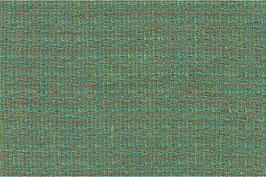 Grünes Voll-Leinen mit eingewebten braunen Fäden