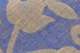 Jacquard - Blaue Blume