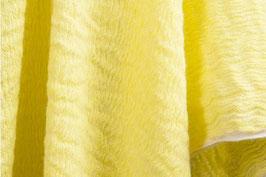 Gewaschenes Leinen in strahlendem Gelb (Leinen 70% Wolle 30%)