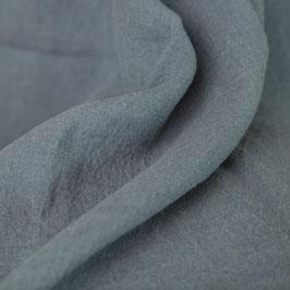 Bettbezug in Graublau aus Gewaschenem Voll-Leinen (Marthy)