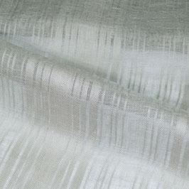 Silbergraue,halbtransparente Tagesvorhänge in Überbreite