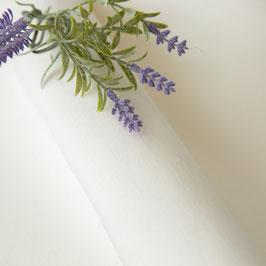 Glattes weisses Leinen (leicht wollweiss)