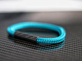 Carbon Magnetic Bracelet turquoise