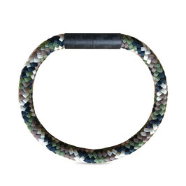 Carbon Magnetic Bracelet Camo Wood