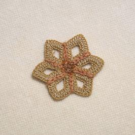 Chrochet Blume Mini - Druchmesser 5,5 cm
