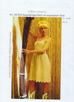Spaghetti-Träger-Kleid 02-302