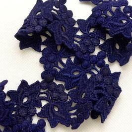 Spitzenband, dunkelblau