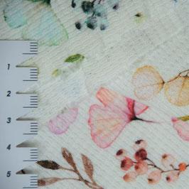 Jersey Waffeloptik - 100% Baumwolle - ca145cm breit