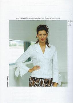 Kostümjäckchen mit Trompete-Ärmeln 04-449