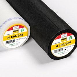 H180 - Leichte weiche und feine aufbügelbare Vlieseinlage Breite: 90 cm