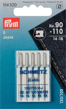 Jeansnadeln für dicke, feste Gewebe