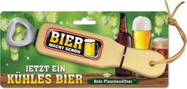 """Flaschenöffner """"Bier macht schön"""""""