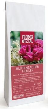 Blütenzauber Holler 100g - Teebox Ötztal