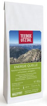 Energie Quelle 90g - Teebox Ötztal