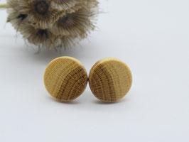 Ohrstecker aus Goldregen, 10 mm