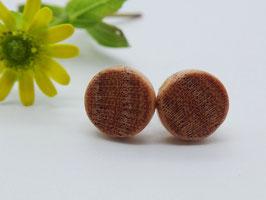 Ohrstecker aus Gleditschie, 8 mm