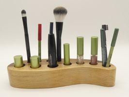 Kosmetikständer aus Walnussholz