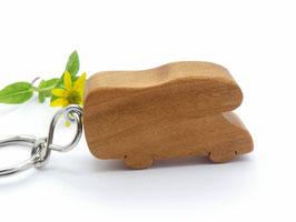 Schlüsselanhänger Wohnmobil aus Kirsche