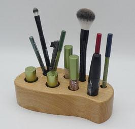 Kosmetikständer aus Ulmenholz