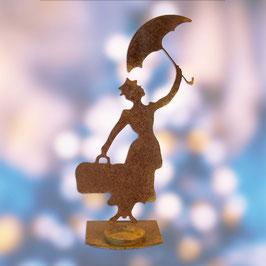 Mary Poppins porta candela Cod. Z10