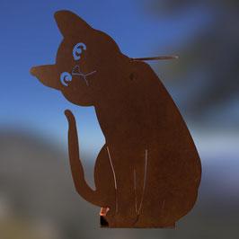 Gatto curioso portaombrelli Cod. AA1