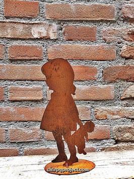 Bambina orsacchiotto Cod. A4