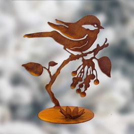 Chirpy su ramo con porta candela Cod. E8
