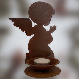Angioletto che prega porta candela Cod. V11