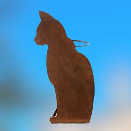 Gatto di profilo portaombrelli Cod. AA2