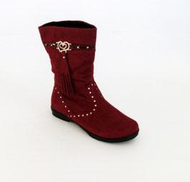 Stivali da bambina Asso colore rosso
