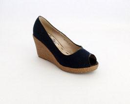 Scarpe con punta aperta Miss Roberta