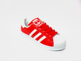 Scarpe Adidas Superstar 2 red/white