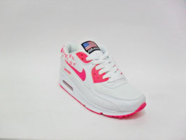 Nike Air Max 90 white/plum 2017