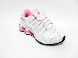 Nike Shox NZ white pink